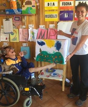 Hannah Meyer ('16) in Ecuador