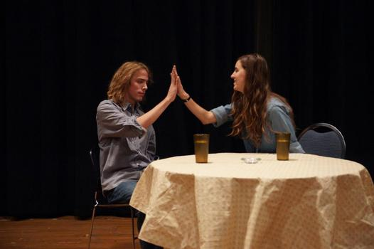 Hunter Dyar and Taylor Zartman - Playwrights' Festival