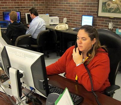 The HelpDesk provides technical support services to students, faculty, and staff.
