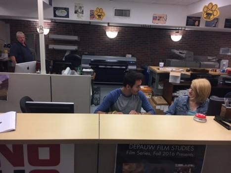 Printing services main desk