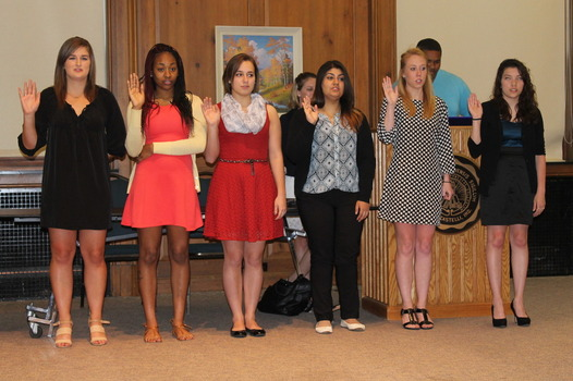 DSG Executive Board members being sworn into the positions.