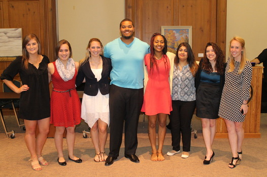 The DSG Executive Board on May 3, 2015 following the inauguration.