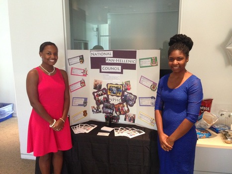 NPHC President and Vice President at Meet the Greeks 2014