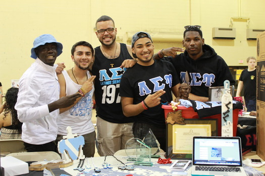 Lambda Sigma Upsilon - Student Activities Fair 2014