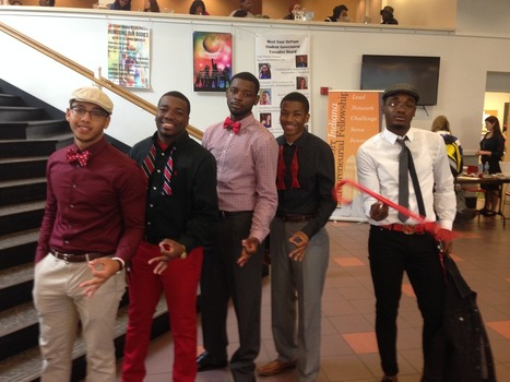 Members of Kappa Alpha Psi Fraternity, Inc. Fall 2014