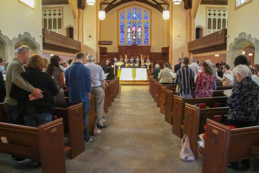The Family Weekend Worship Service at Gobin Memorial United Methodist Church