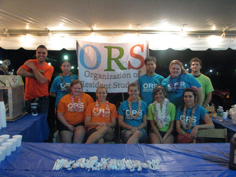 ORS Luau for first year students
