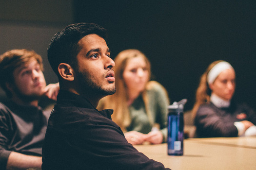 Bijay Ranabhat, Class of '19, in the Web Authoring Rotation