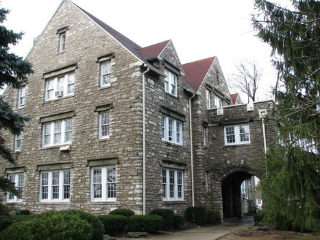 The Indiana Alpha Chapter House of Phi Kappa Psi