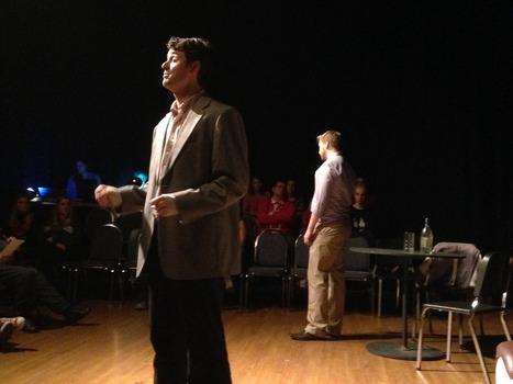 Zane Roberts and Jeremy Boyd – Playwright's Festival 2015