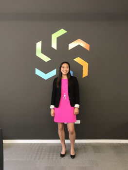 Annie Stevenson '19 on her semester long internship at Strive Consulting.