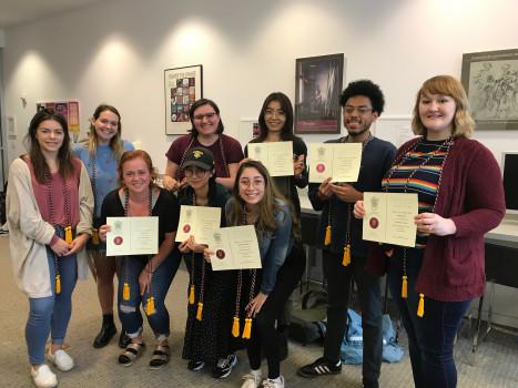 2019 Kappa Pi Students