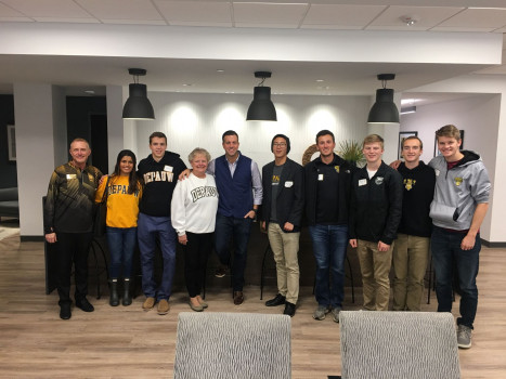 Darnall Indy Downtown Startup Tour 2019 at RICS Software with CEO/Alumnus Jason Becker