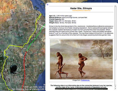 The East African Rift System & Hominid Bipedal Evolution by Jacob Mark