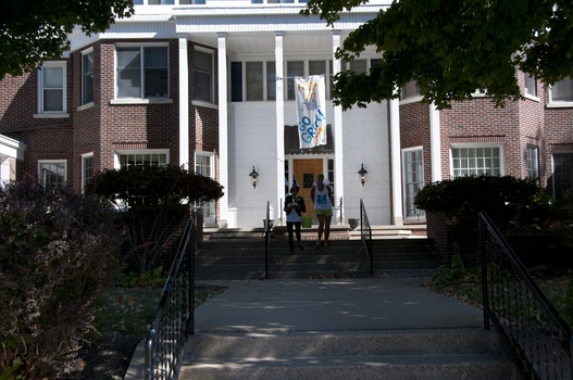 The Iota Chapter House of Kappa Kappa Gamma