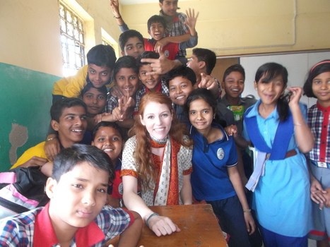 Kara L. Bischak '12, Fulbright ETA Grant, India
