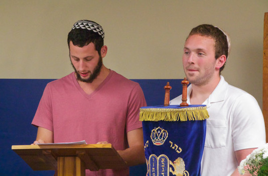 Kol Nidre ceremony on the eve of Yom Kippur