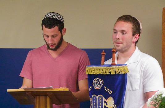 Kol Nidre ceremony on the eve of Yom Kippur
