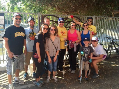 Ballona Creek Cleanup Project, September 2015