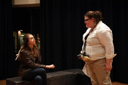 Lily Reed and Nicole DeCriscio - Playwrights' Festival