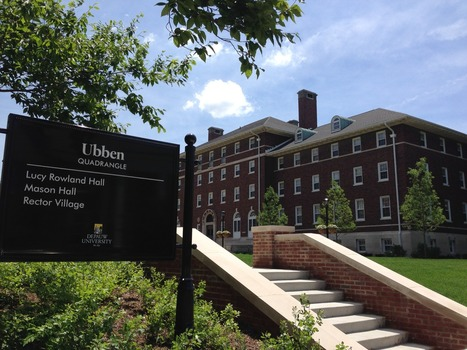 Lucy Rowland Hall is a large, upperclass residence hall, located in Ubben Quad