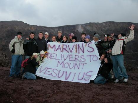 On top of Mt. Vesuvius