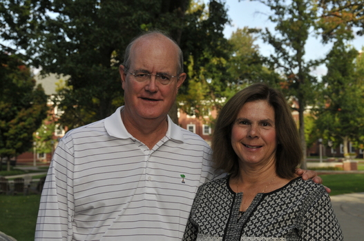Joe and Jill Tanner, parents of Mitch '16 and Jake '19