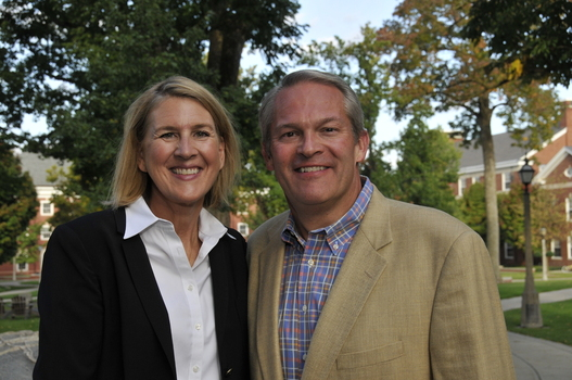 Peter and Susan Coburn, parents of Bobby '13 and Grace '17