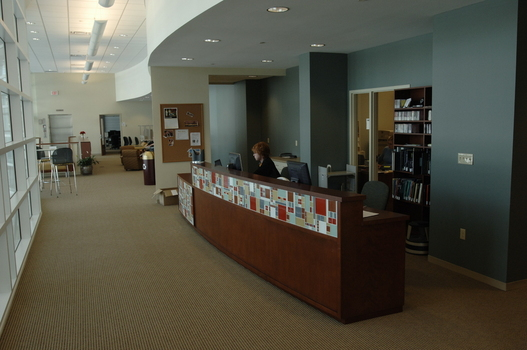 Music Library Circulation Desk