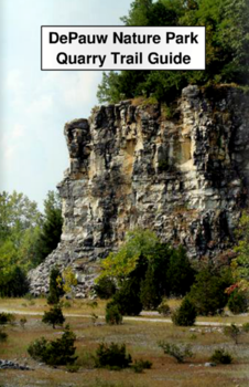 Nature park Quarry trail guide brochure cover
