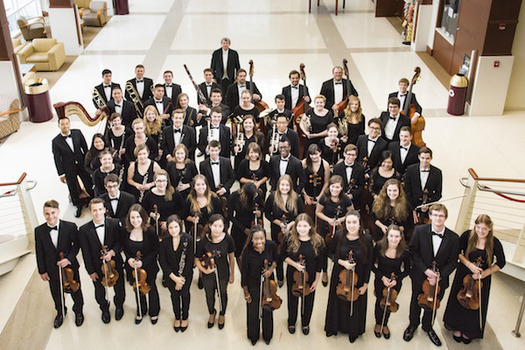 DePauw University Orchestra, Oct. 30