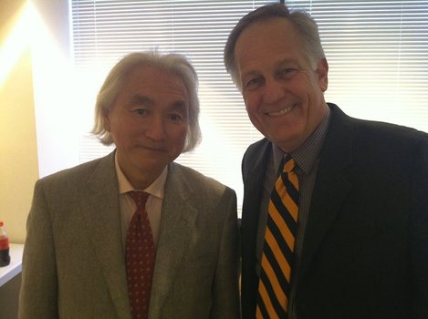 Physicist Michio Kaku and Ken Owen; May 5, 2014
