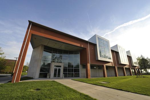 Richard E. Peeler Art Center, North Entrance