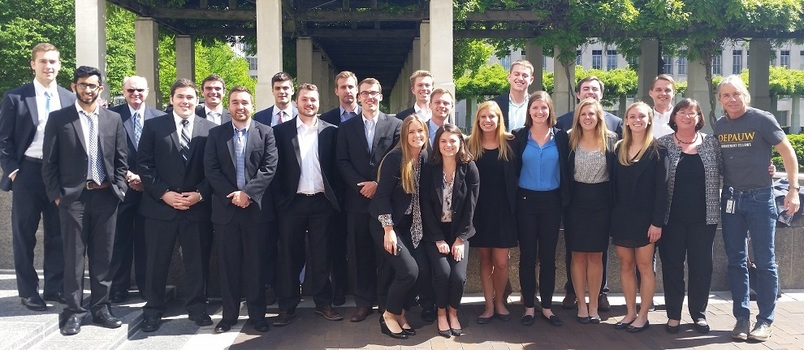 Our Management Fellows competed in the annual P&G Case Competition.