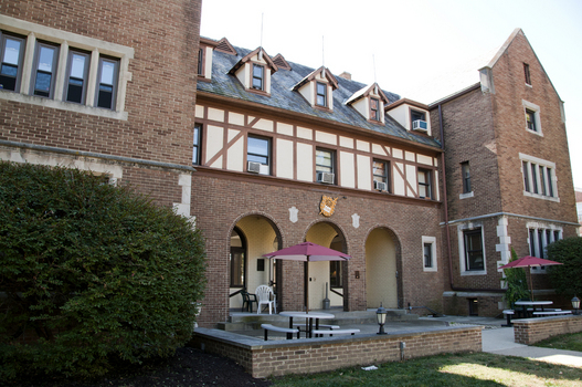 The Indiana Zeta Chapter House of Phi Delta Theta