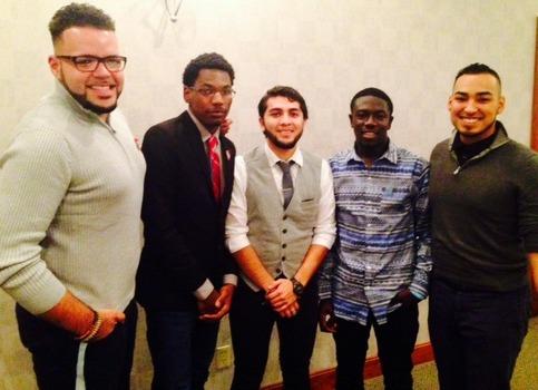 Lambda Sigma Upsilon Men at campus events