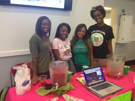 Alpha Kappa Alpha Event Fall 2014