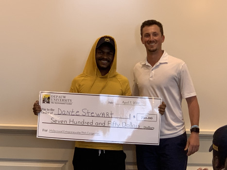 2019 EEG Pitch Competition 2nd Place Winner Dante Stewart