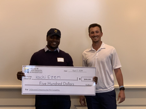 2019 EEG Pitch Competition 3rd Place Winner - Kachi Ezem