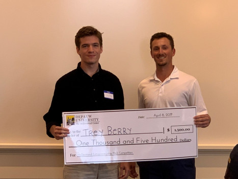 2019 Pitch Competition Winner Trey Berry
