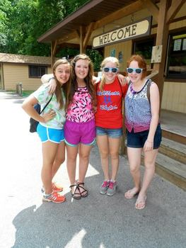 During the summers of 2011, 2012, and 2013,  Colleen was a camp counselor at Camp Tecumseh YMCA