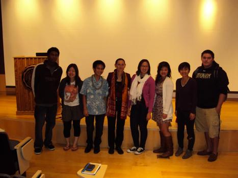 "AAPI Initiative + AAAS co-sponsored event with Professor Helen Quan, Arizona State University, ""Mobilizing Pan-Asian America."" (Fall '11)"