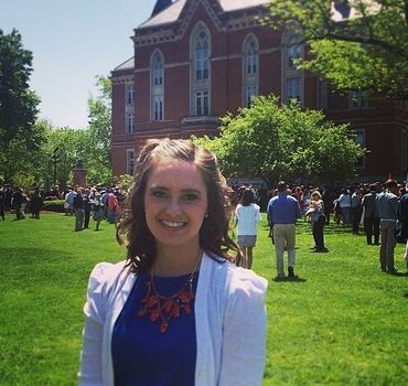 Rachel Hanebutt will attend grad school and study either Education Policy, Curriculum and Instruction or Education Psychology.