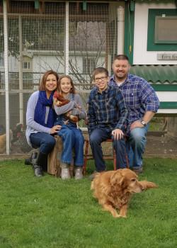 Raphaella Prange '97and family