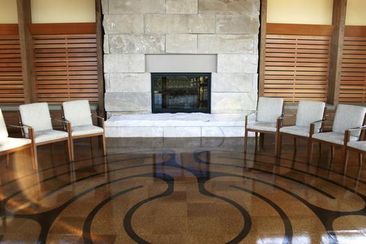 Reflection Center Labyrinth