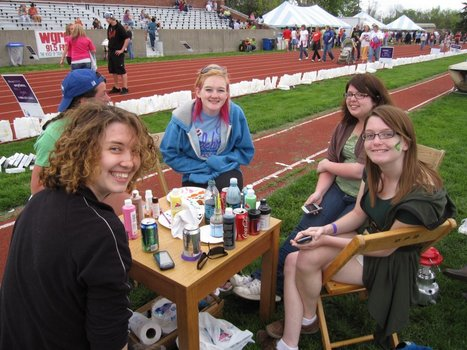 Relay for Life, Spring 2011