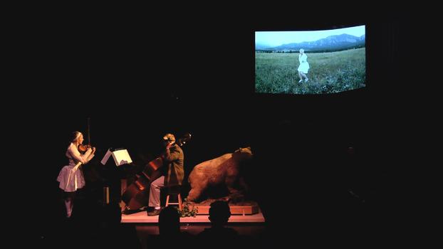 The Split Wild (still image), The ATLAS Black Box Theater, Boulder CO, 2013