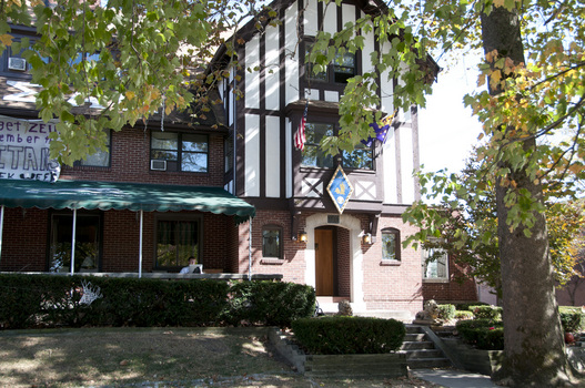 The Indiana Delta Chapter House of Sigma Alpha Epsilon