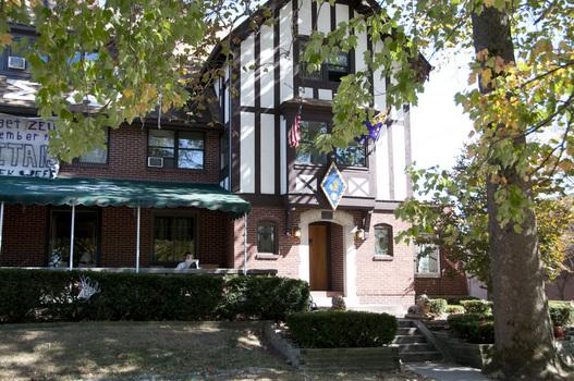 The Indiana Delta Chapter House of Sigma Alpha Epsilon