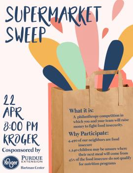 Supermarket Sweep Poster